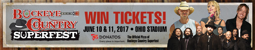 Enter to win tickets to Buckeye Country Superfest June 10-11 at Ohio Stadium!