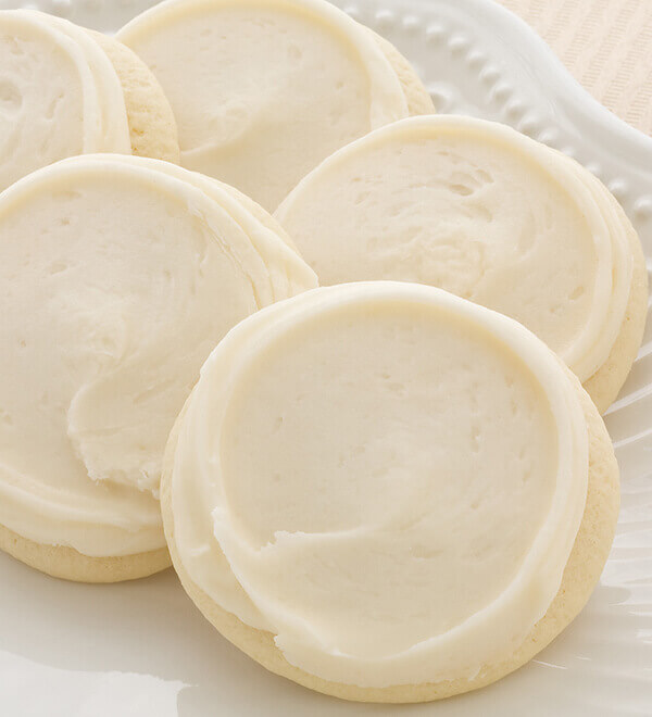 Cheryl's Buttercream Frosted Cookies